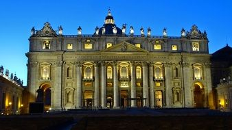 Italy Rome st Peter\'s basilica