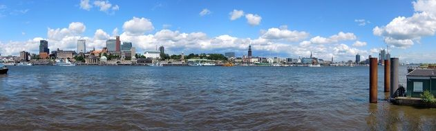 beautiful Hamburg Panorama