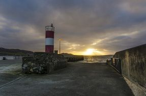 Buncrana Lighthouse Ireland