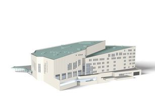 Aalto Theater Building drawing