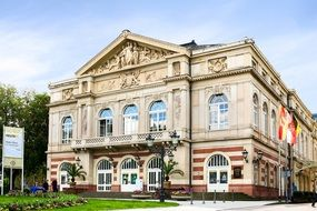 theater in the center of Baden-Baden
