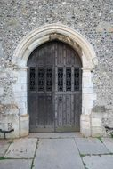 arched church entrance