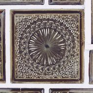 Tile Glass Ornament
