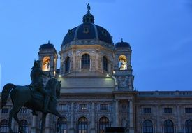 night vienna hofburg architecture austria