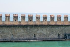 knight's castle middle ages Sirmione