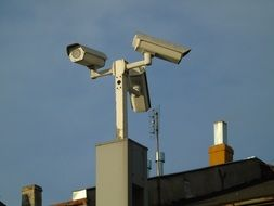 Picture of Monitoring city Camera