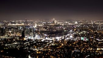 city at night Seoul
