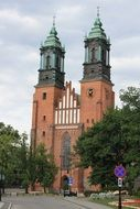 Religion church on Poznan
