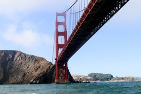 summer pic of Golden Gate bridge in San Francisco