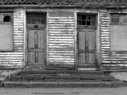 Doors Weathered House