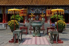 Vietnam worship Royal Palace