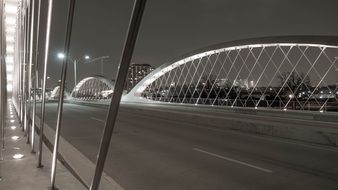Bridge Structure at night