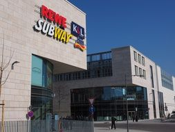 Shopping Centre subway retail stores