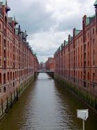Speicherstadt Hamburg red brick city