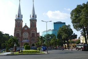 Vietnam Saigon cathedral