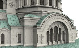 Alexander Nevsky Cathedral design