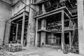 Abandoned Factory Old Industrial