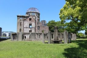 building after the second world war in hiroshima
