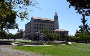 Berkeley university campus building