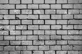 Bricks Wall monochrome