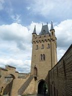 high hohenzollern castle in Germany