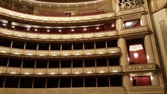 Vienna Opera House theater
