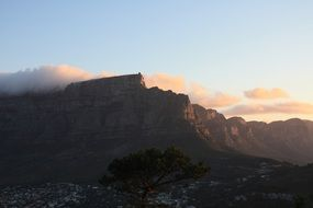 south africa cape town table mountain panorama