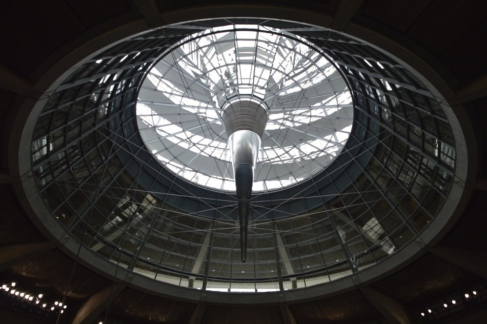 Bundestag government building dome, Germany