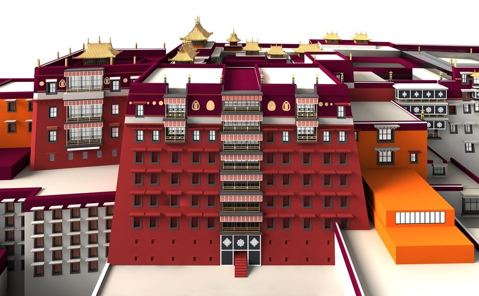 Potala Palace Architecture