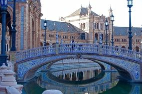 Plaza De Espania Bridge