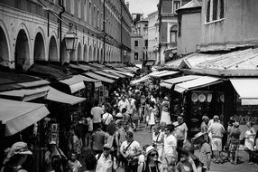city market in Venice