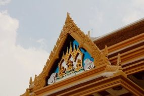 Thailand Temple Roof buddhism
