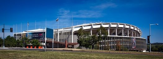 Robert F. Kennedy Memorial Stadium is a multi-purpose stadium in Washington