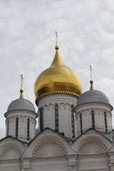 Golden Dome Russian church