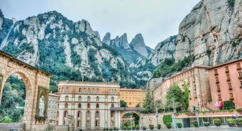 Montserrat Mountains treasure of Spain