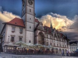Old Town Hall in Olomouc, Czech Republic