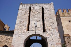 fortress in sirmione