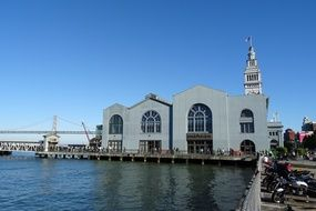 clock tower Ferry Building port of California