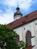 parish church in landsberg am lech