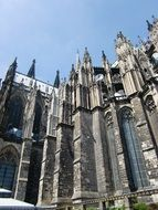 Cologne Cathedral with spiers