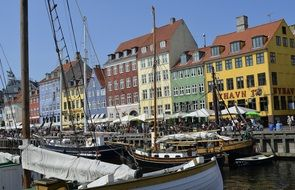 port of Nyhavn in Copenhagen
