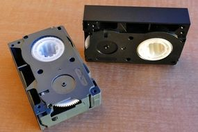 Old Video Cassette