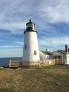 oceanfront lighthouse