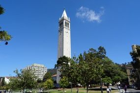 Sather Tower University campus