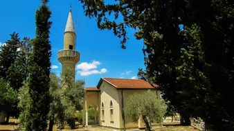 Muslim mosque in the village of Menogeia, Cyprus