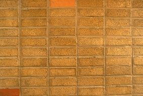 Red Brick Wall On a building