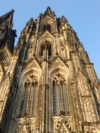 Cologne Cathedral under blue sky