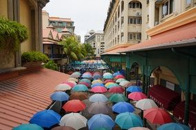 Umbrella Street Art