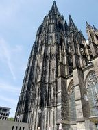 Cologne Cathedral with beautiful architecture