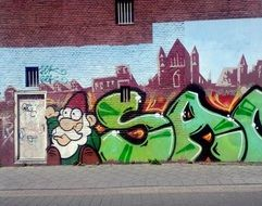 gnome as a theme for graffiti